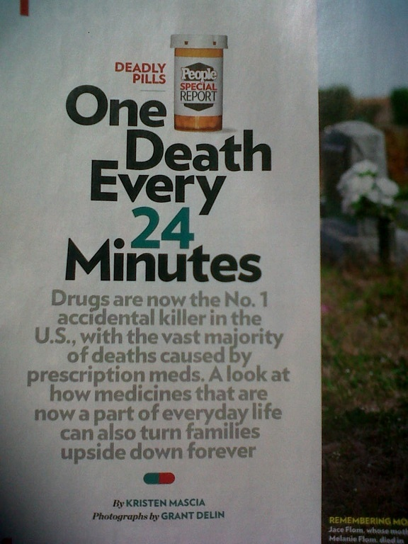 Prescription drugs people magazine killer